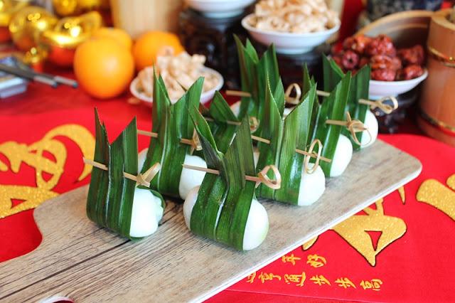 SUNWAY RESORT CAFE CHINESE NEW YEAR 2021 Menu - Steamed Pandan lotus dumplings