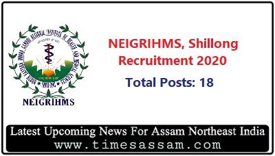NEIGRIHMS, Shillong Job