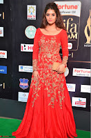 Ritika in sindoori Red Dress at IIFA Utsavam Awards 2017  Day 2  Exclusive 17.JPG