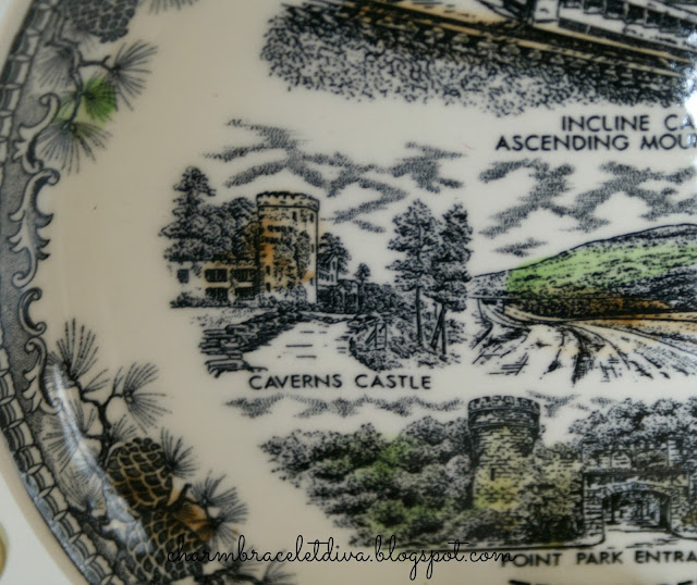 Lookout Mountain Tennessee Collector Plate