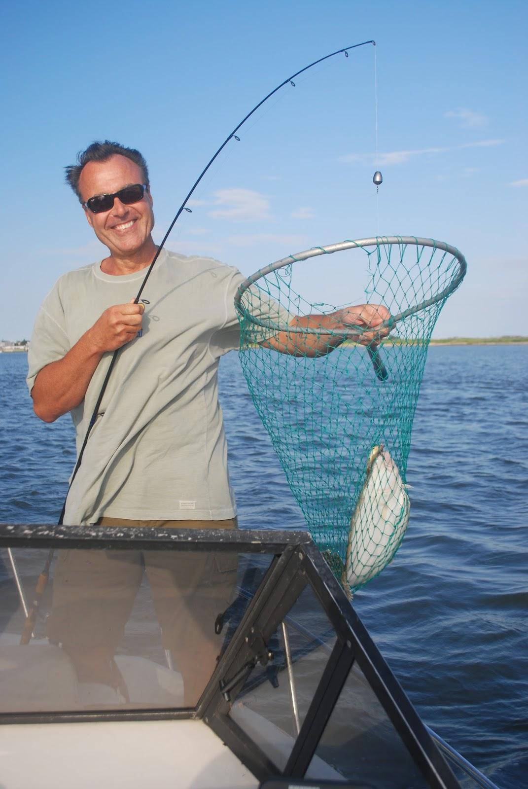 Catching Fluke In Little Egg Harbor Behind Holgate Long Beach Island