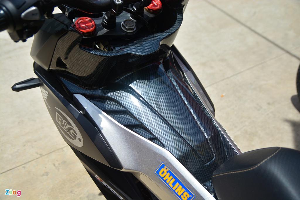 Chi tiết Honda Winner X với dàn chân Honda CB150R Neo Sport Cafe