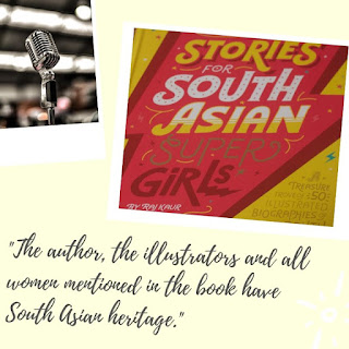 Audio Version of Stories for South Asian Super Girls Book Review
