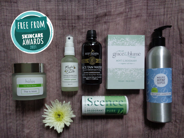 Winners announced in 2021 Free From Skincare Awards