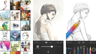 Aplikasi Terbaik Untuk Menggambar di Android - PaperColor