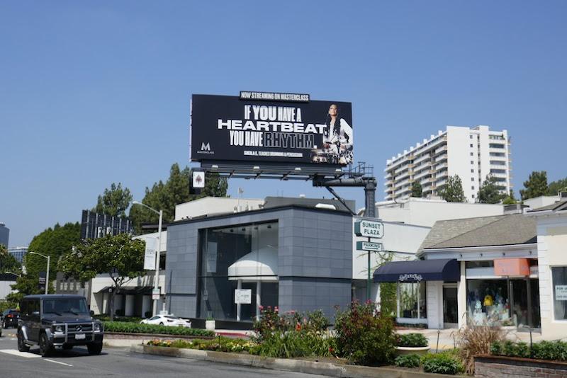 Masterclass Sheila E drumming billboard