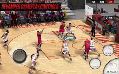 Tampilan Game NBA 2K17