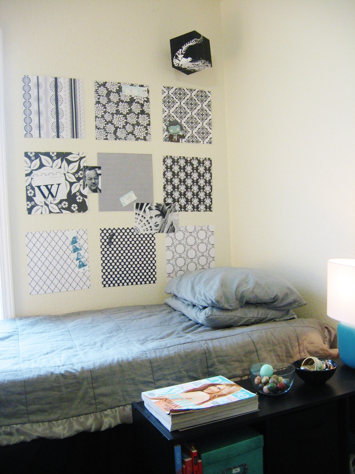 Monicas Black and White Dorm at SCAD