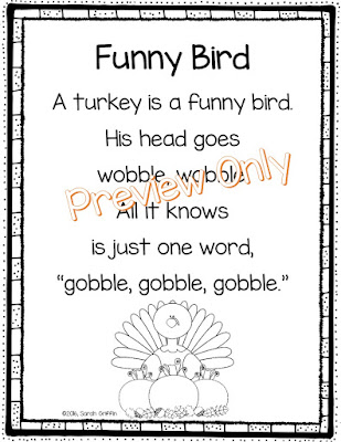 https://www.teacherspayteachers.com/Product/Funny-Bird-Thanksgiving-Poem-for-Kids-2860513