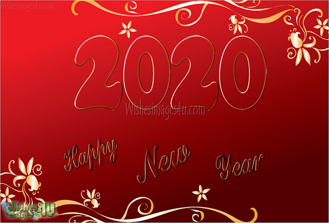Happy New Year 2020 4k Golden Images Download Free