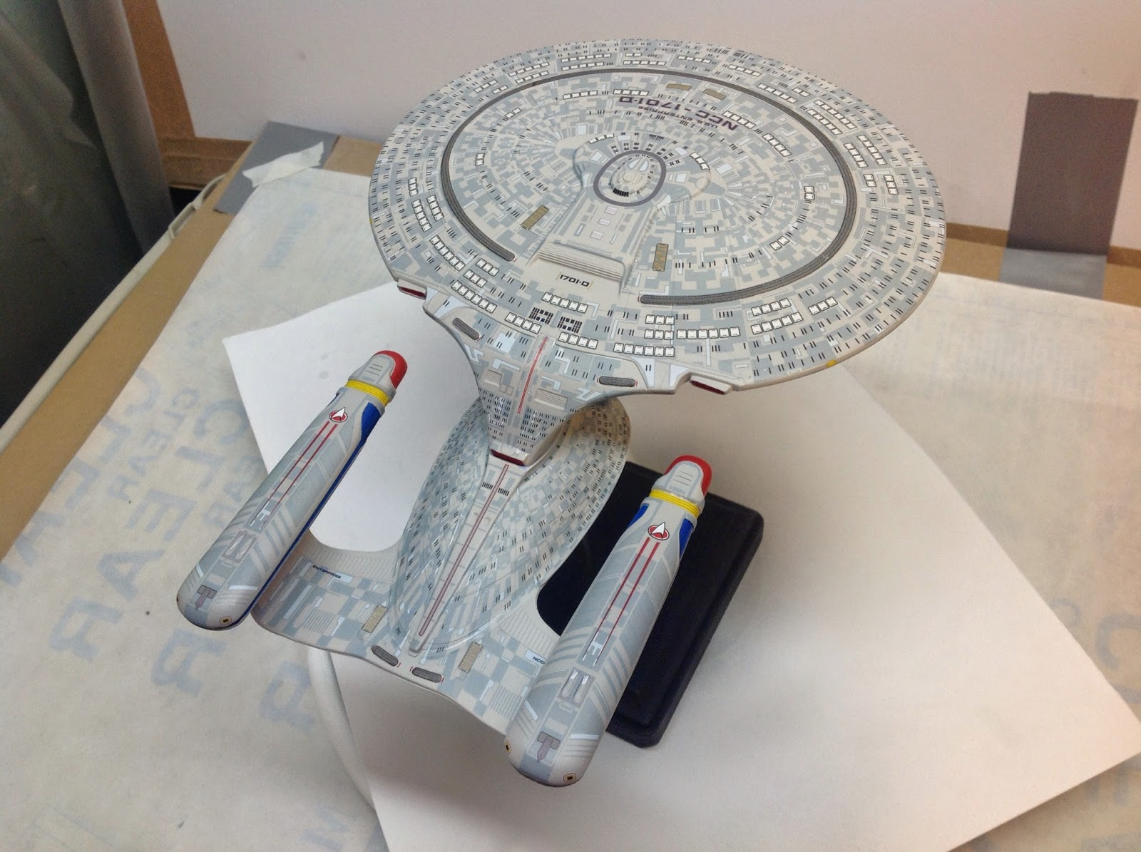 Star Trek Scale Model