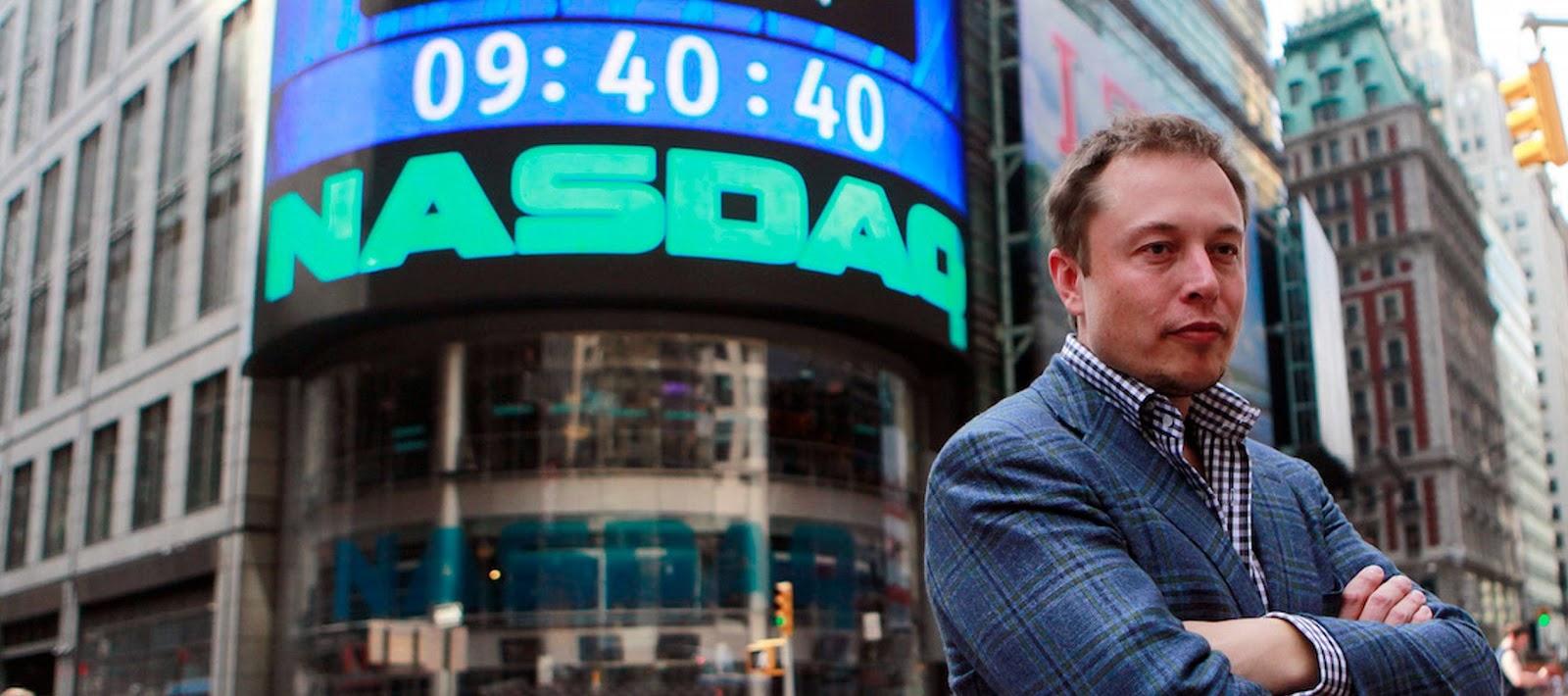 Elon Musk en Wall Street