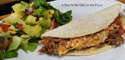 Beef Barbacoa Tacos in the Slow Cooker
