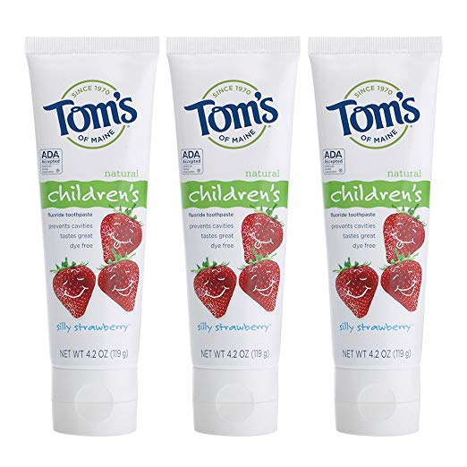 Tom's Kids Fluoride Toothpaste