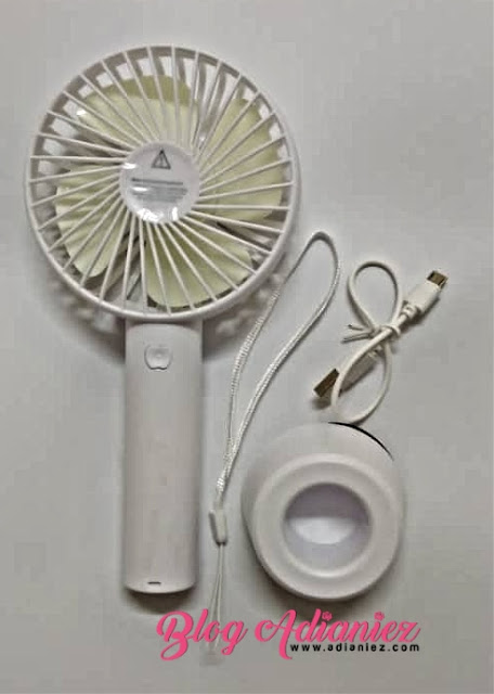 Shopee 9.9 Super Shopping Day   USB Rechargeable Mini USB Fan & Hand Held Portable