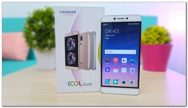 smartphone gaming terbaik CoolPad Cool Dual
