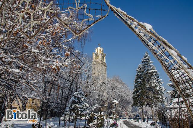 Clock Tower, Bitola, Macedonia - 27.01.2019