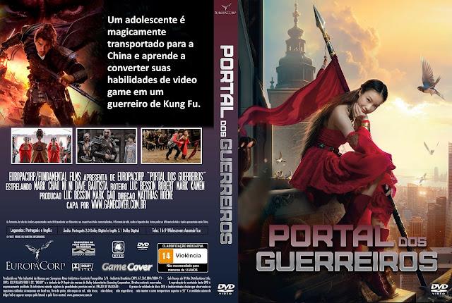Capa DVD Portal Dos Guerreiros [Exclusiva]