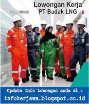 Lowongan Kerja PT Badak LNG