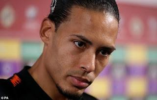 Virgil van Dijk WITHDRAWS from Holland squad