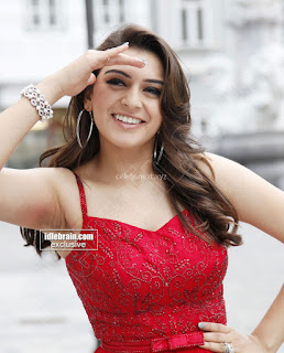 Hansika Motwani in lovely Red Mini Dress Dance Stills 01 .xyz.jpg