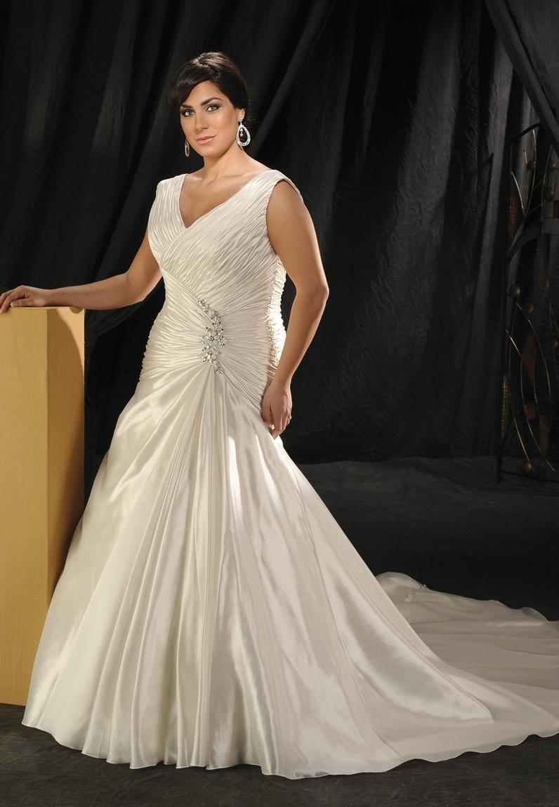 0402802166ed6 فساتين زفاف للسمينات موديلات 2013 ~ أزياء ستار