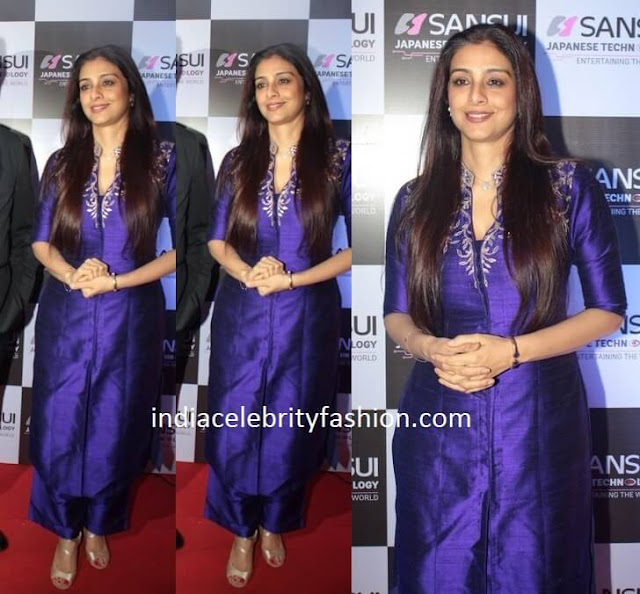 Tabu in Anita Dongre Outfit