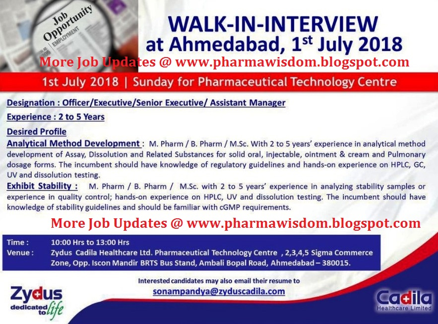 Getz Pharma Jobs Feb 2018 – Wonderful Image Gallery