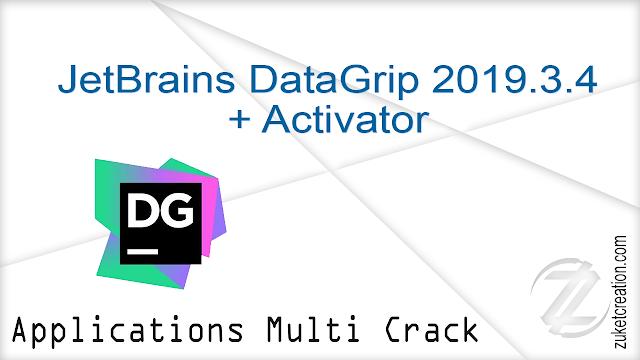 JetBrains DataGrip 2019.3.4 + Activator