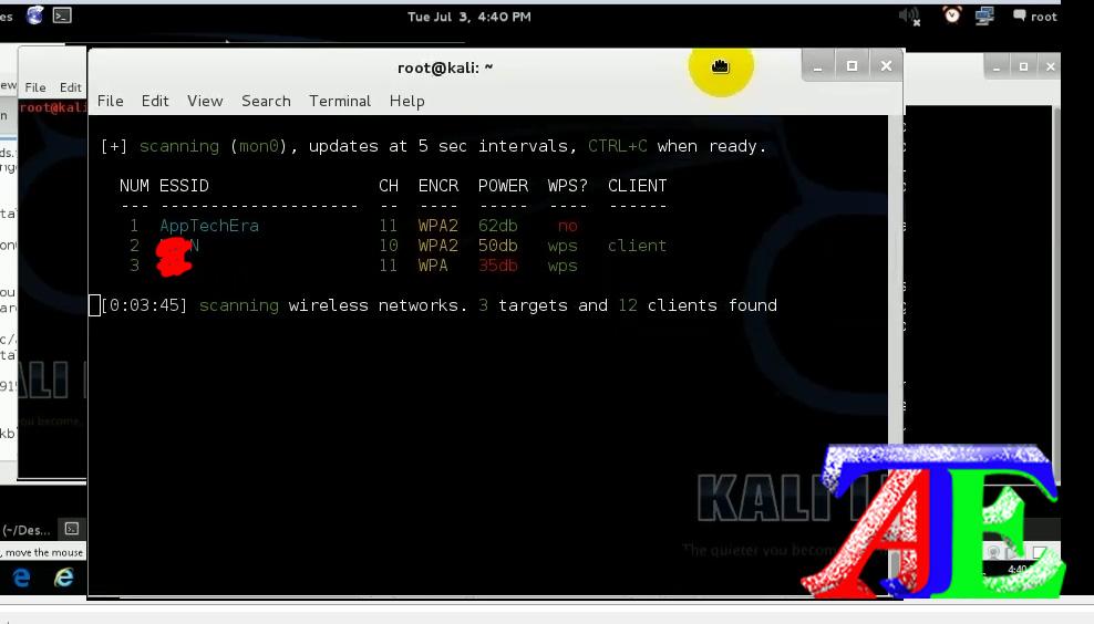 hack wifi kali linux wifite