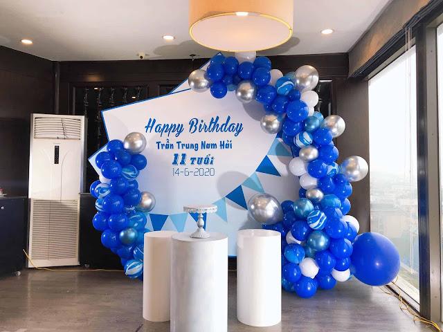 trang trí sinh nhật tại nhà hà nội