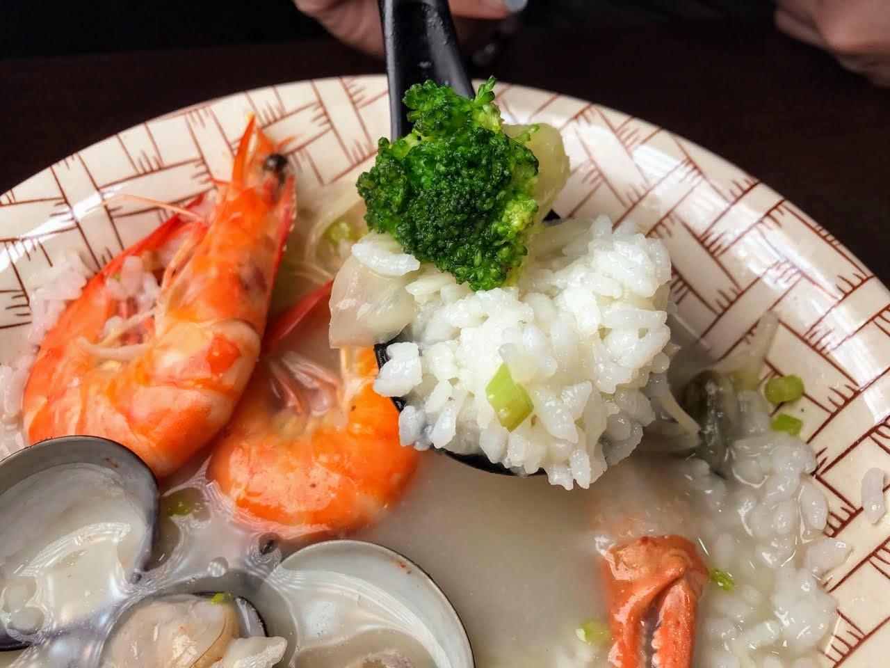 【台南|中西區】上豐富 海產粥|自選配料|一碗專屬於你的海產粥