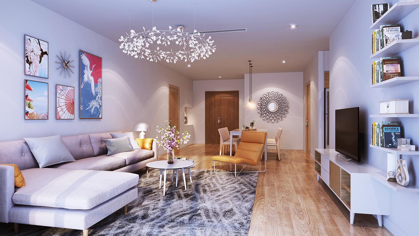 Thiết kế căn hộ Chung cư Hinode City