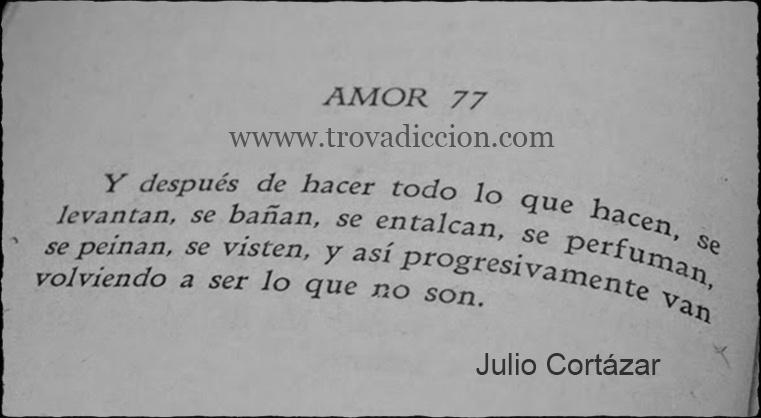Los Amantes Julio Cortazar