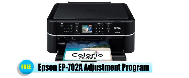 Epson EP-702A Adjustment Program
