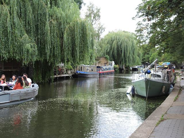 Londen: wandelen langs Regent Canal