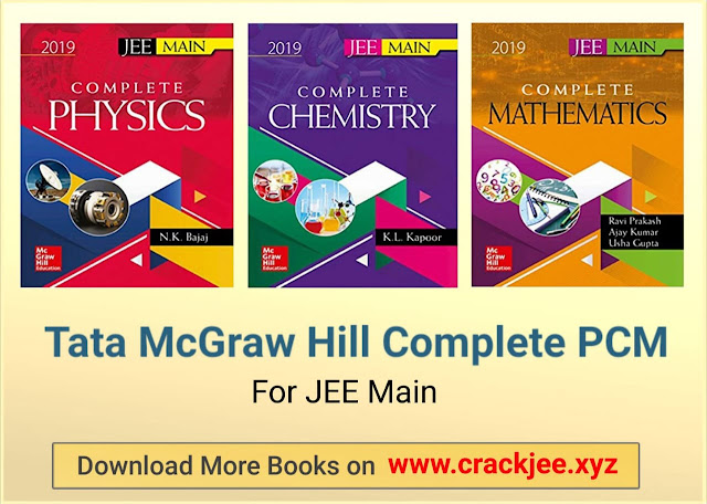 Tata Mc Graw Hills JEE Main Complete PCM Subjects Reference Books