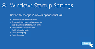 How to Boot Windows 8/8.1 in Safe Mode and other options