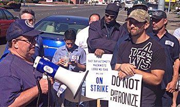 Strike At San Leandro Ford Off Union Officials Opt For Cooling Period