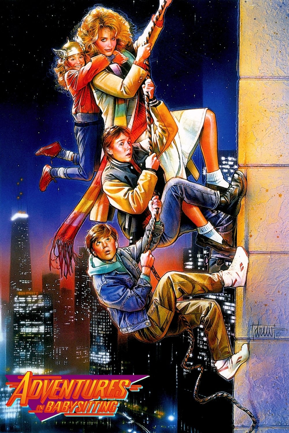 Just No Netflix Adventures In Babysitting 1987