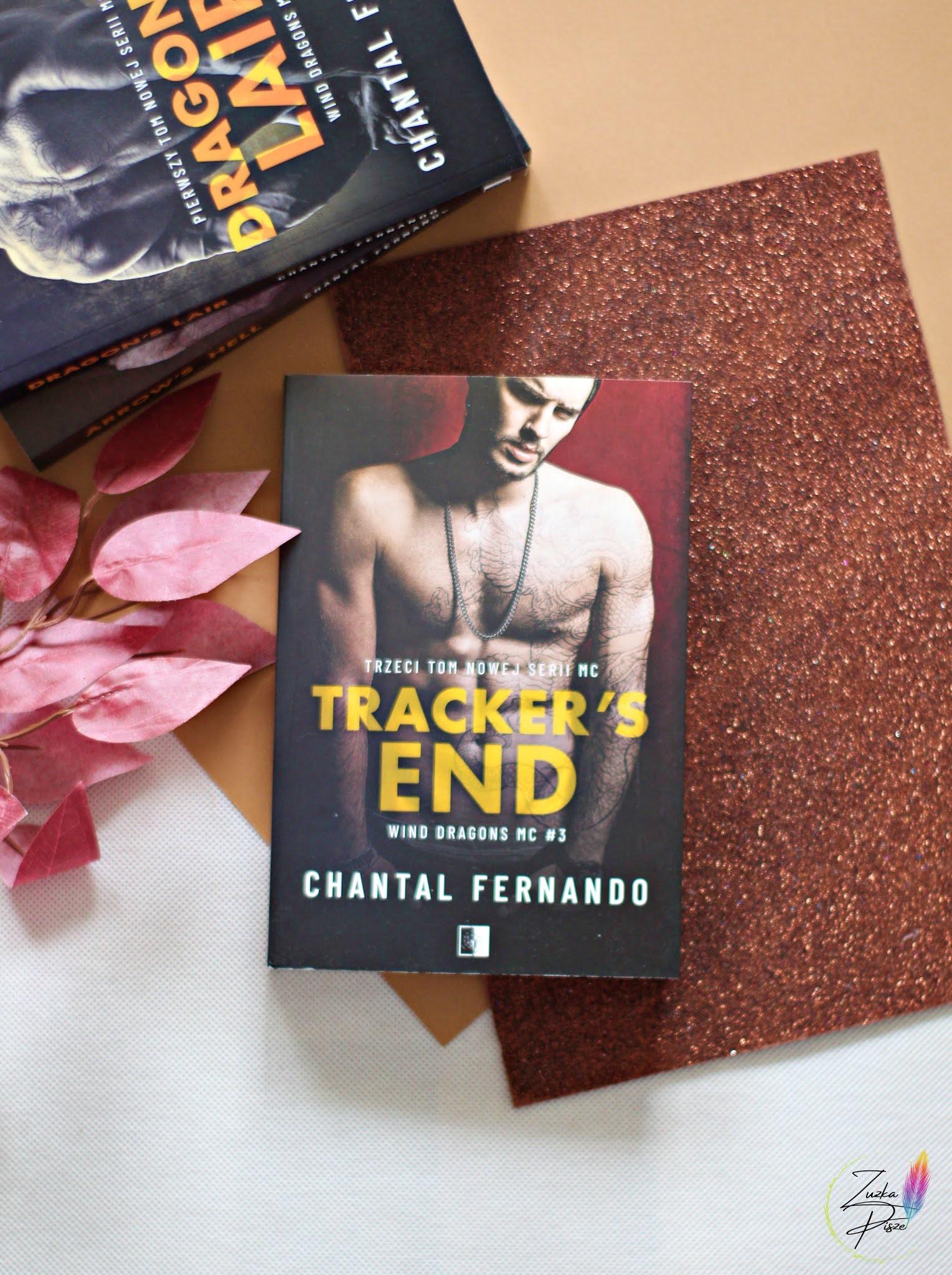 """Chantal Fernando """"Tracker's End"""" - patronacka recenzja książki"""