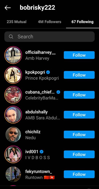 Barely 24 hours after Tonto dikeh brokeup with her Boyfriend Prince Kpokpogri starts associating with Bobrisky