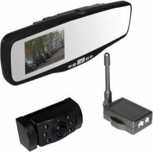 Pro-User draadloze achteruitrijcamera bluetooth met spiegeldisplay