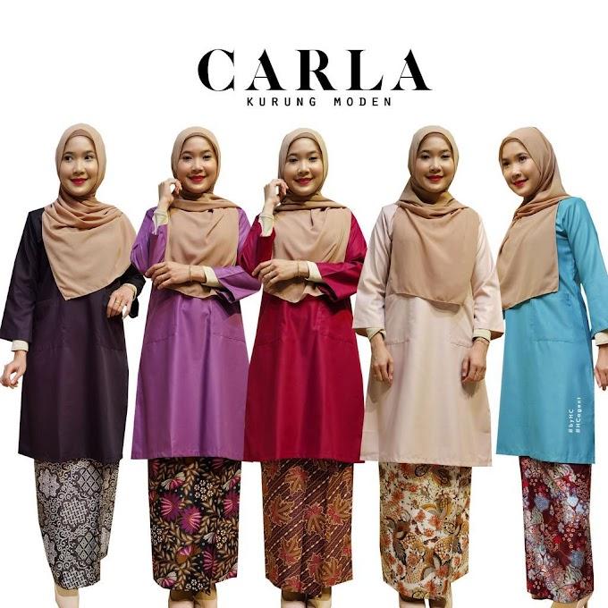 Baju Sedondon Raya 2021 ~ Kurung Carla