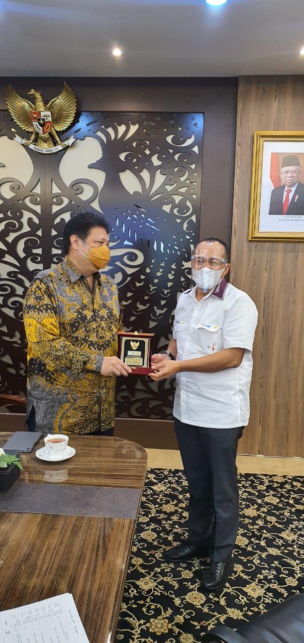 Menteri Bidang Koordinator Perekonomian, Bahas Percepat Pengalihan Aset  Eks Asahan