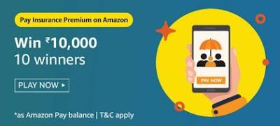 Pay Insurance Premium On Amazon Quiz