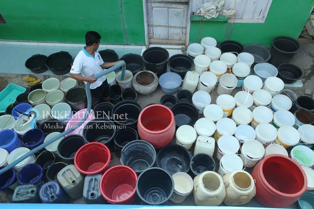 Antisipasi Kekeringan, BPBD Kebumen Siapkan 1.450 Tangki Air Bersih