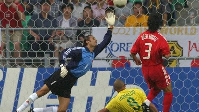 Rustu helped Turkey reach the semi-finals of the 2002 World Cup.