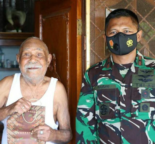 Jalin Silatuhrami, Budhi Achmadi Kunjungi Tokoh Pepera Ramses Ohee