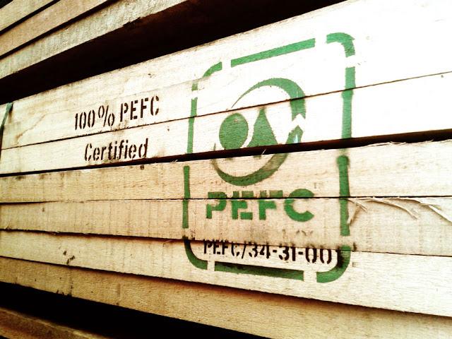 marchio legno PEFC by StudioAxS